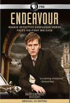 Endeavour - Inspector Morse's early years. --- This series is great! Very suspensful, dramatic, and intellectual.