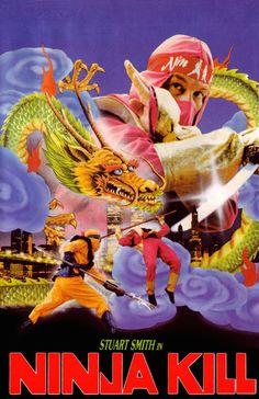 Poster for the movie Ninja Kill Chemical Chart, Last Ninja, Ninja Japan, Smoke Screen, Shadow Warrior, Smoke Art, First Tv, Movie Poster Art, Book Show