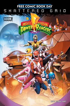 The Gold comics for next year's Free Comic Book Day have been revealed — the 12 titles that every participating store giving away comics on that day has Power Rangers Comic, Go Go Power Rangers, Online Comic Books, Free Comic Books, Ranger 2018, Original Power Rangers, Green Ranger, Movies And Series, Best Superhero