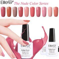 Elite99 Gel Polish Varnish UV LED Nude Color Series UV Gel Base Top Coat UV Lamp Nail Art Design Hot Sale Nail Gel Lacquer-in Nail Gel from Health & Beauty on Aliexpress.com | Alibaba Group
