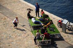 Pop-Up 'Miniature Gardens' On Wheels Make Urban Spaces Greener - DesignTAXI.com
