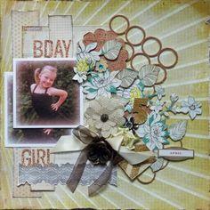 **My Creative Scrapbook** Bday Girl - Scrapbook.com