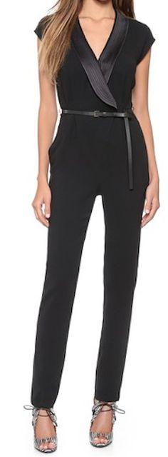 Stylish black jumpsuit