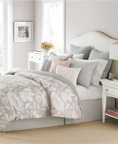 Martha Stewart Collection Shaded Garden 10-Pc. Comforter Sets, Only at Macy's - Bed in a Bag - Bed & Bath - Macy's