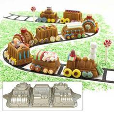 train cake! william sonoma pan?