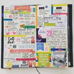 """#midori #travelersnotebook #planner #planneraddicts #plannerlove #michaels"" Hobonichi Techo, Zootopia, Travelers Notebook, Moleskine, Filofax, Journal Inspiration, Bullet Journal, Organization, How To Plan"