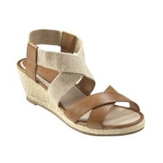 I bought these, but in black, from Target.  So cute and so comfortable!  (But I hate them in the brown.) -KZB