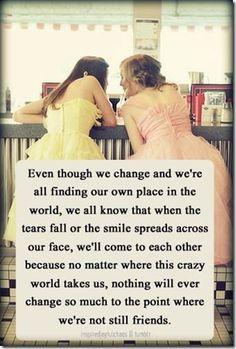 @Sarah Chintomby Mckibbon @Katrina Alvarez Manz @Kim Randell Pee @Blayre Murray Tobin @Ana G.-Carolina Sales @Amy Lyons Griffith @Oriana Zens Bowers @Caitlin Giles Cuffari . . .  I love you girls with my whole being. I'm so lucky to have you all in my life.