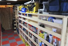"The shelves are built for maximum visibility and accessibility of tools and equipment. With a 3/4"" inch lip shelf, ""No matter what bump I go..."