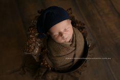 This little man stole my heart   Newborn Posing in a bucket! love it ⠀