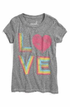 5c72ee1bc171f Peek Rainbow Love Graphic Tee (Toddler Girls