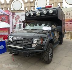 2013 Ford F-150 SVT Raptor Chinese Police Truck
