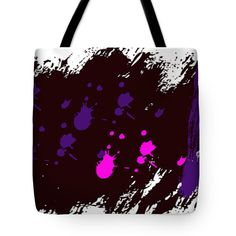 Purple Club Tote Bag by Tina M Wenger