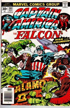 Captain America #203, Jack Kirby | Longbox Graveyard