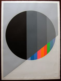 Eugenio Carmi (b1920) has been a leading exponent of Italian abstract art since the early 1950s. For two decades he devoted himself to Art Informel and, from the end of the 1960s onwards, he adopted the rigour of geometrical forms, which he gradually developed over the following decades.