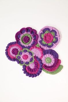 Freeform Crochet is a creative way to use up all that extra yarn from past knitting projects. Freeform pieces can lend a funky, vintage vibe to any room. Need a little freeform inspiration? Check out our Craftsy list of suggested projects.