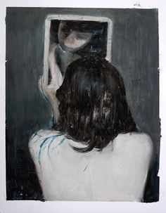 Painting © by Alexander Tinei Figure Painting, Painting & Drawing, Art Alevel, Art And Illustration, Art World, Female Art, Dark Art, Contemporary Art, Art Photography