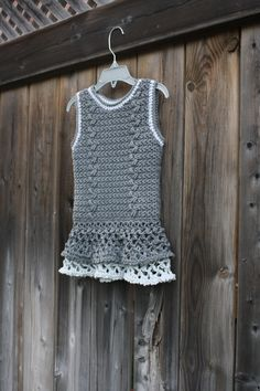 A personal favorite from my Etsy shop https://www.etsy.com/ca/listing/252244190/girls-cochet-tunicgirls-sweater