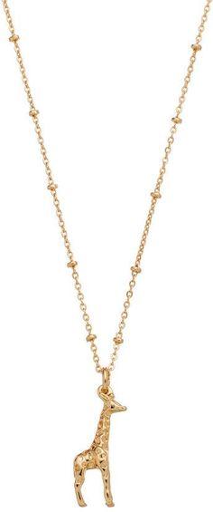 Lauren Conrad Giraffe Pendant Necklace