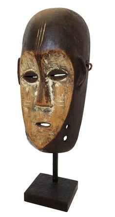 Mask Ngbaka, Congo 21 cm Wood