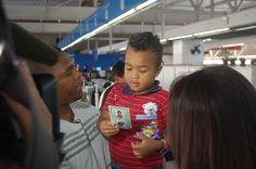 Criança com RG no Poupatempo Itaquera (junho de 2015)