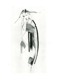 Fashion Sketchbook - fashion design concept sketch; fashion illustration; graduate fashion portfolio // Louise Alsop