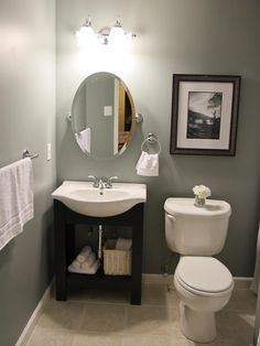 Inspirational Small Bathroom Remodel Ideas On A Budget - small bathroom design ideas on a budget, small bathroom makeover ideas on a budget, small bathroom remodel ideas on a budget, small bathroom renovation ideas on a budget Small Basement Bathroom, Budget Bathroom Remodel, Diy Bathroom, Downstairs Bathroom, Bath Remodel, Bathroom Renovations, Home Remodeling, Bathroom Ideas, Bathroom Designs