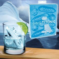 Gin & Titonic ice tray... Distasteful or adorable?