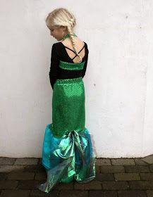 Groovybaby....and mama: Easy Mermaid Costume