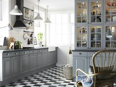 This is it, I want this kitchen! Latte & lauantaipulla - Kotivinkki