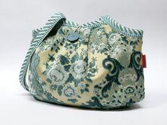 Blue Velvet Granny Bag – a unique product by EllaOsix