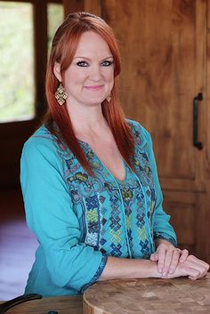 """Ree Drummond, """"The Pioneer Woman"""". She is a beautiful, genuine and inspiring woman. She is a writer, chef, photographer, and the quintessential housewife. I just love her tv show and website."""