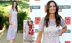 Pippa Middleton fuels James Matthews engagement rumours at Frost Summer Fundraiser | Daily Mail Online