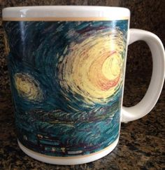 Cafe Arts Vincent Van Gogh Coffee Mug Cup