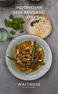 Our Indonesian beef redang curry makes the perfect one pot dish for large dinner. Curry Recipes, Beef Recipes, Cooking Recipes, Recipies, Indian Food Recipes, Asian Recipes, Waitrose Food, Curry Dishes, Asian Cooking