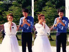Song Ji Hyo and Lee Kwang Soo, Running Man ep. 163. © on pic