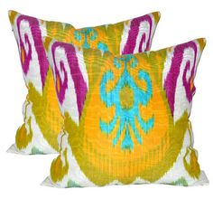 A few of my favorite things today: ikat