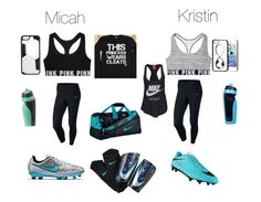 """Soccer season"" by kristinvm15 on Polyvore featuring NIKE, CellPowerCases and Victoria's Secret"