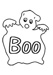 the ghost says boo clipart | Original Ghost Clip Art, Download Free Ghost Clipart, Ghost Pictures ...