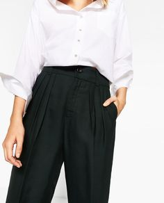 Image 2 of GATHERED TROUSERS from Zara