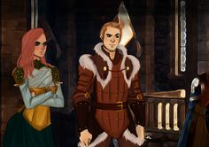The King and his Queen by AlexielApril on deviantART..... This is how it should have been...