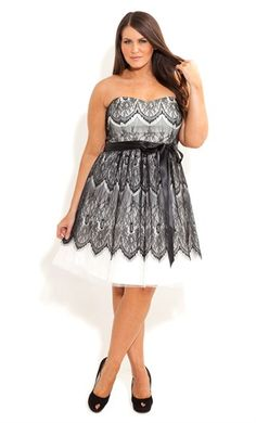 LACE BRADSHAW DRESS--so cute to wear to a wedding!!! this cute with a sweater top