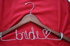 Bride <3 hanger
