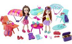 Polly Pocket Adventure Friends Set: Amazon.co.uk: Toys & Games