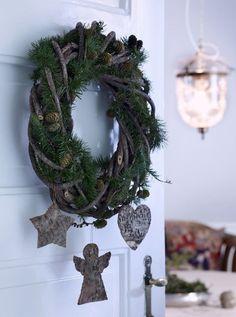 Как сделать рождественский венок | Sweet home