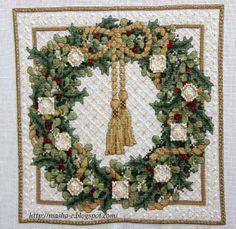 http://masha-e.blogspot.com/2014/01/christmas-wreath-teresa-wentzler.html