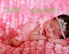 photography prop headband- newborn headband,baby girl headband, toddler headband- brown headband- photogrpahy prop