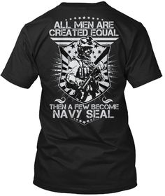Navy Seal   Limited Edition Black T-Shirt Back