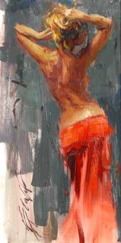 "Original Painting ""Graceful Elegance"" by Henry Asencio So beautiful"