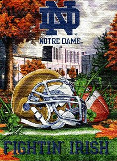 My dream school (alas...) and my favorite college sports team - I have, however, been on campus and have seen The Dome and Touchdown Jesus with my own eyes. Go Irish!